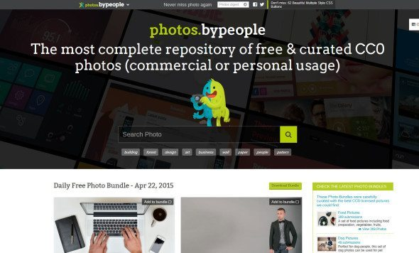 Bank zdjęć ByPeople