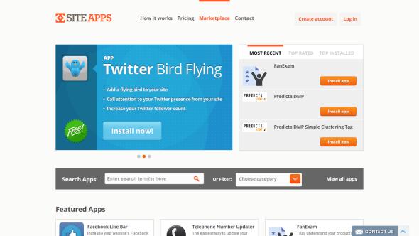 Aplikacje SiteApps